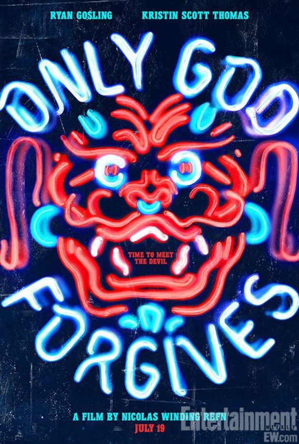 'Only God Forgives' poster