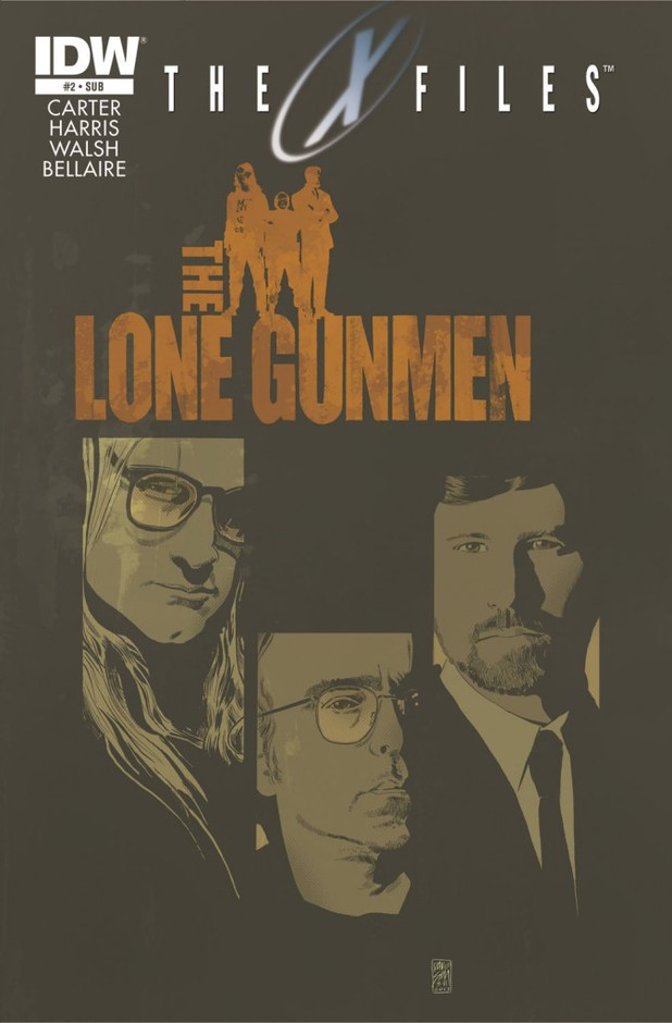 'The X-Files' season 10 featuring The Lone Gunmen