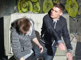 Ste punches Kevin