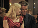Pierce Brosnan and Trine Dyrholm make a charming couple in this romantic comedy.