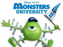'Monsters University' UK poster