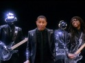 Daft Punk's new single 'Get Lucky' is mashed up with some of Jackson's classics.