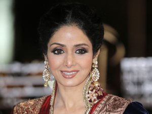 Sridevi arrives at the Marrakech International Film Festival in Marrakech, Saturday, Dec.1, 2012