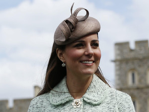 Duchess of Cambridge, Mulberry coat, National Review of Queen's Scouts, Chief Scout Bear Grylls, baby bump