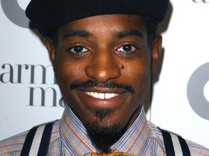 Andre 3000 during the GQ Men of the Year Awards