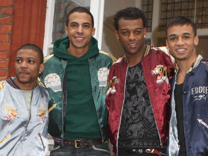 JLS at the X Factor house ~~ November 28, 2008