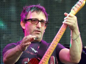 The Lightning Seeds' Ian Broudie ~~ Rewind Festival, Temple Island, Henley-on-Thames, Oxfordshire, Britain - 19 Aug 2012
