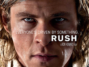 Chris Hemsworth, Rush, movie poster