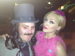 Fearne Cotton and Leigh Francis.