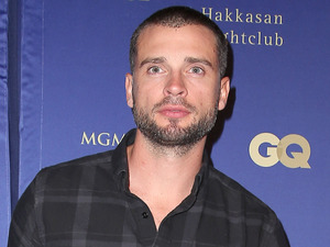 Tom Welling attends the opening of Hakkasan Las Vegas.