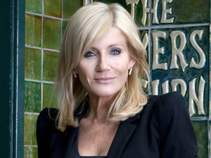 Michelle Collins as Stella Price in Coronation Street