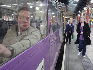 8115: Eileen rushes to the station to stop Paul from leaving for his new job in Yorkshire