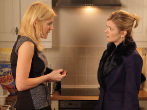 8117: After her run in with Karl, Leanne vows to tell Stella what kind of man she's intending to marry. But when Leanne finds her upset, Stella reveals some shocking news of her own.