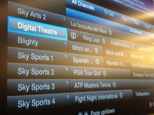 Digital Theatre channel through TalkTalk
