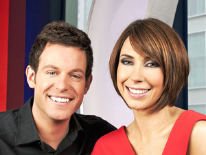 Matt Baker and Alex Jones present 'The One Show'