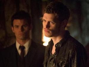 The Vampire Diaries - 'The Originals' (S04E20): Daniel Gillies as Elijah and Joseph Morgan as Klaus