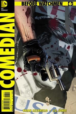 Before Watchmen Comedian #6