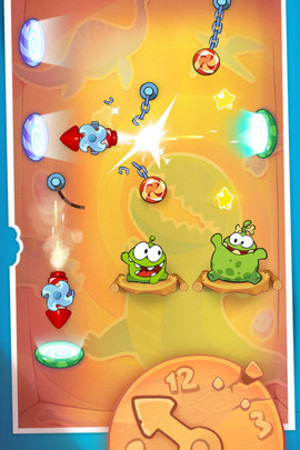 &#39;Cut the Rope: Time Travel&#39; on iOS