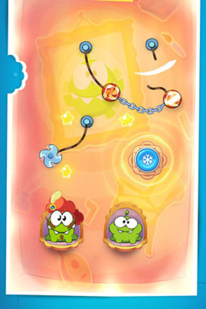 'Cut the Rope: Time Travel' on iOS