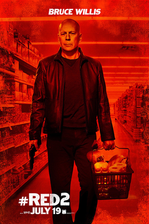 Bruce Willis as Frank Moses in 'RED 2' character poster.
