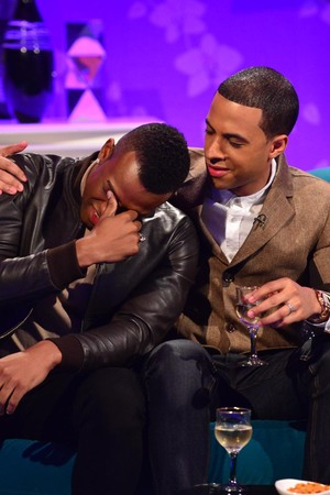 Oritsé Williams of JLS breaks down in tears on Alan Carr: Chatty Man
