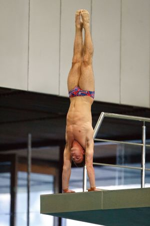 Tom Daley, Men's 10m Platform during the FINA Diving World Series at the Royal Commonwealth