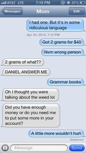 Comedian Nathan Fielder drug deal text prank angers parents