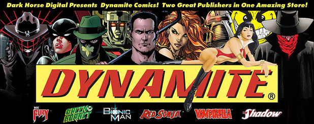 Dark Horse Digital teams with Dynamite