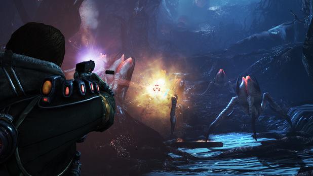 Single Player Campaign mode in Lost Planet 3
