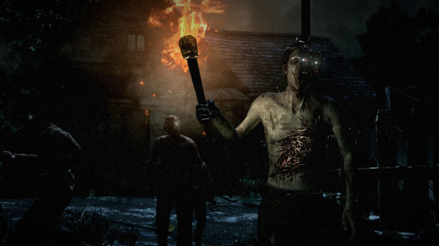 A screenshot from Bethesda Softworks new survival horror title 'The Evil Within'