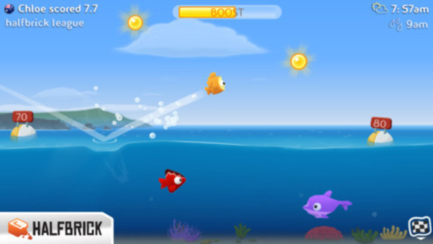'Fish Out Of Water!' on iOS