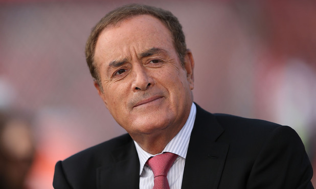 NBC Sunday Night Football broadcaster Al Michaels