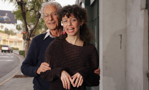 Allan Arbus with his daughter Amy