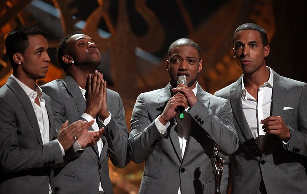JLS win the 'British Single' Brit Award ~~ February 16, 2010