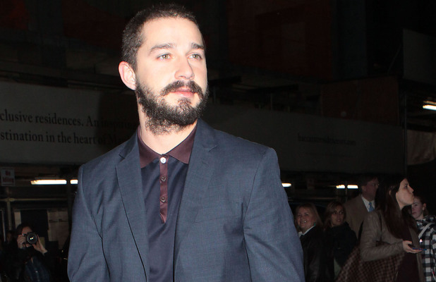Shia LaBeouf, injury, foot, The Company You Keep premiere
