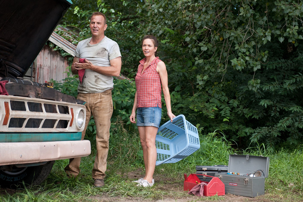 Kevin Costner, Diane Lane in Man of Steel