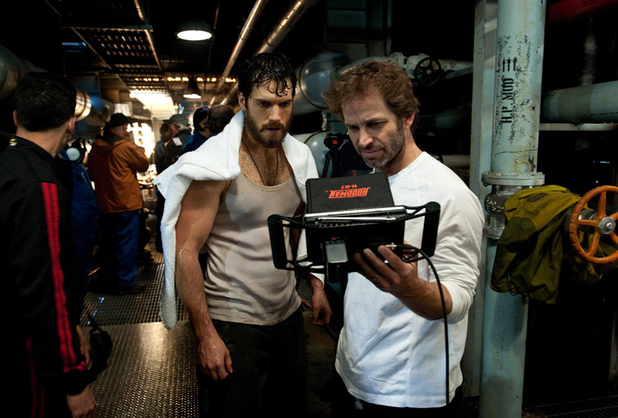 Henry Cavill Zack Snyder Man of Steel