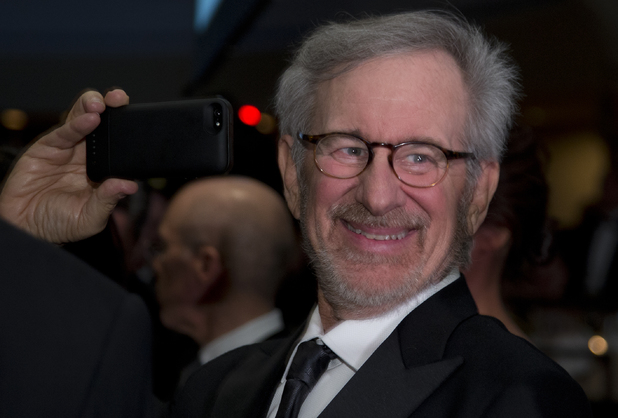 Director Steven Spielberg at the White House Correspondents' Dinner.