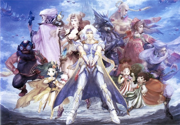 'Final Fantasy IV' artwork