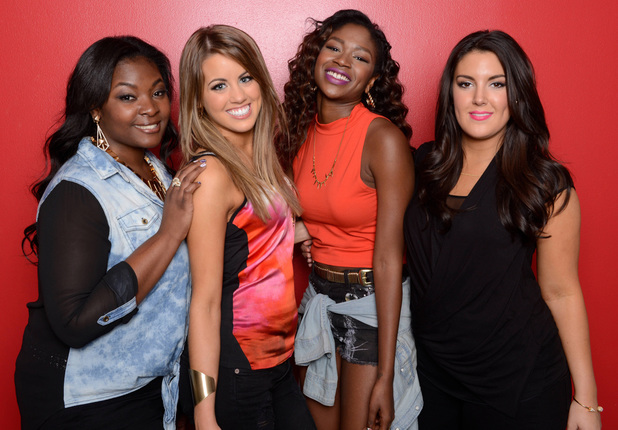 Amber Holcomb, Angie Miller, Kree Harrison, Candice Glover on 'American Idol'