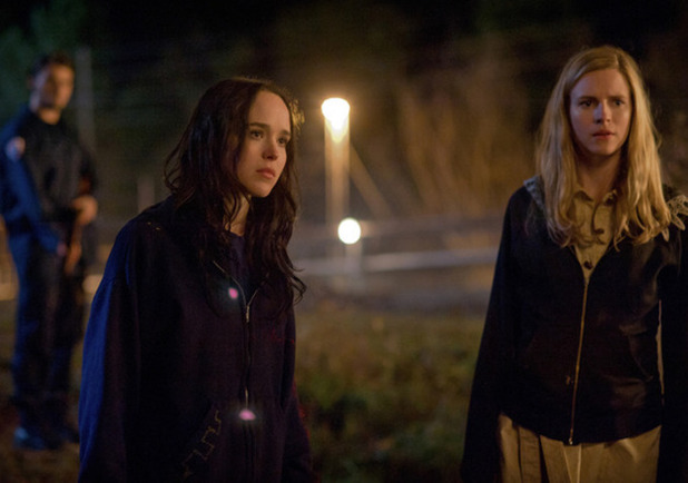 Ellen Page and Brit Marling in 'The East'