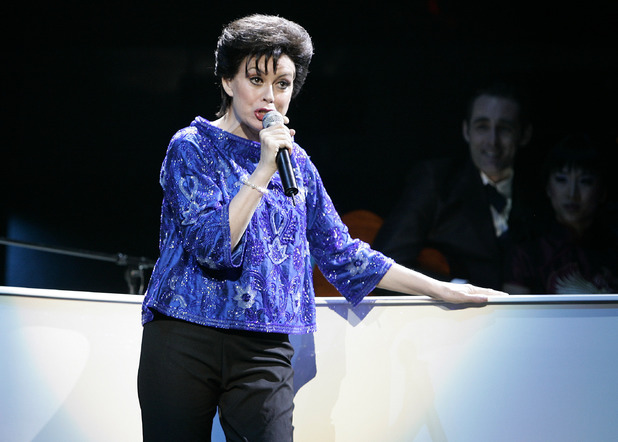 Chrissy Amphlett as Judy Garland in 'The Boy From Oz' ~~ August 2006