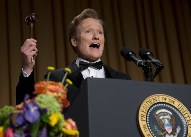 Late-night television host and comedian Conan O'Brien.