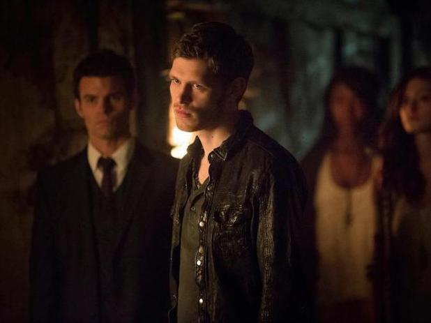 The Vampire Diaries - 'The Originals' (S04E20): Daniel Gillies as Elijah and Joseph Morgan as Klaus