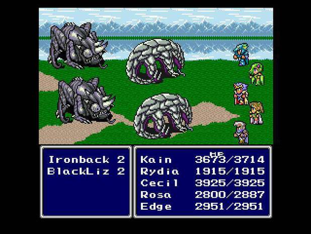 'Final Fantasy IV' screenshot