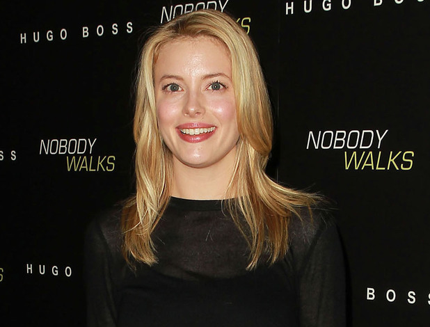Gillian Jacobs at the premiere of 'Nobody Walks' in October 2012