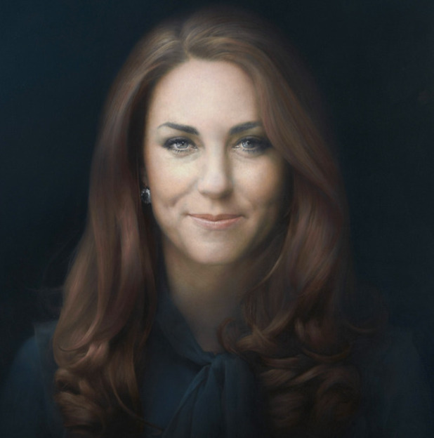 Kate Middleton, Duchess of Cambridge, portrait, Paul Emsley, National Portrait gallery
