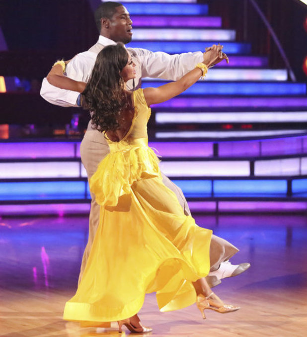 Dancing with the Stars - week 6: Jacoby Jones & Karina Smirnoff
