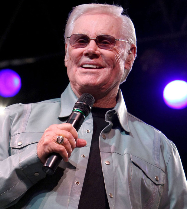 George Jones performing in 2009