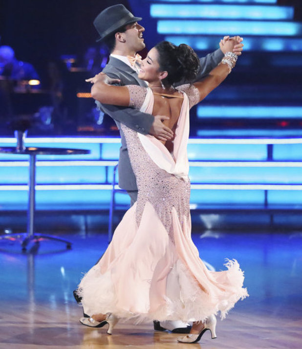 Dancing with the Stars - week 6: Aly Raisman & Mark Ballas